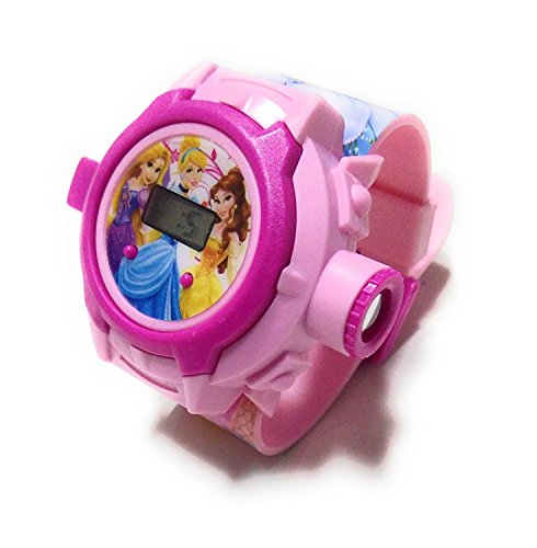 Vishwakarma Enterprises Princess Projector Watch For Girls - Multi Color