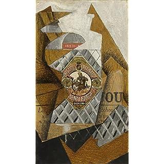 Das Museum Outlet–Juan Gris–Die Flasche ANJOS Del Mono, gespannte Leinwand Galerie verpackt. 50,8x 71,1cm