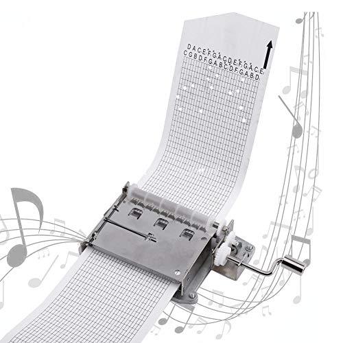 Mecanismo de Caja de música con Tiras, 30 Notas de música Personalizadas Disponibles, canción Opcional