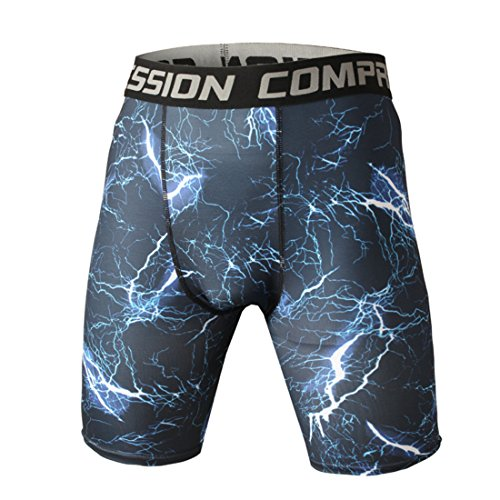 Men's High Quality Compression Stretch Casual Shorts WDK05809008