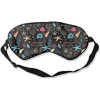Sleep Eye Mask Seahorse Starfish Lightweight Soft Blindfold Adjustable Head Strap Eyeshade Travel Eyepatch preisvergleich bei billige-tabletten.eu