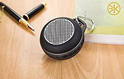 3keys Wireless Mini Speaker, Portable Lightweight Flexible Bluetooth Speakers with HD Sound and Bass for Indoor & Outdoor Travel Cycling/Climbing/Hiking