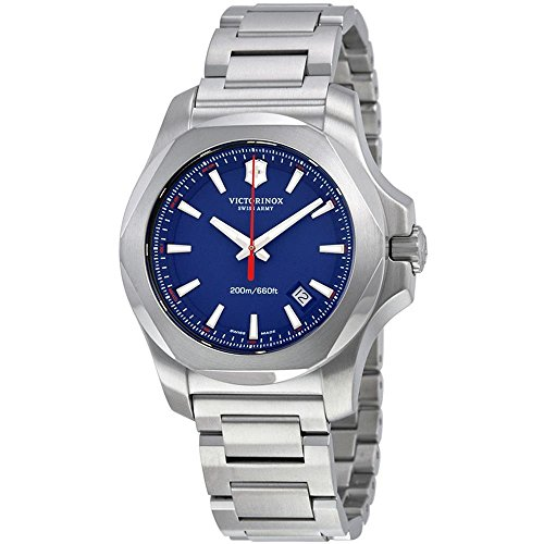 Victorinox Swiss Army Men's Quartz Watch with i.n.o.x. Analogue Quartz Stainless Steel 241724.1