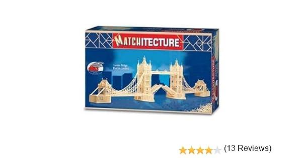 Notre-Dame Paris Cathédral Allumettes Modèle Kit de Bricolage Matchitecture
