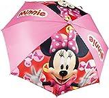 Minnie Mouse enfants parapluie Ø 90cm parapluie parapluie pluie girls rouge, Farbe:Rosa hell