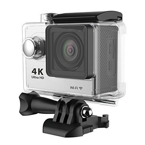 SMARTEX | ProCam Sport 4K@10fps WI-FI Waterproof Completa di Kit Accessori - Action Camera alta definizione 12MP Ultra HD 4K / 10 fps 2,7K / 15 fps 1080p / 60 - 30 fps Videocamera - Sci Scuba Diving Sport Estremi