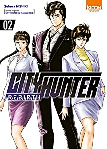City Hunter Rebirth Edition simple Tome 2