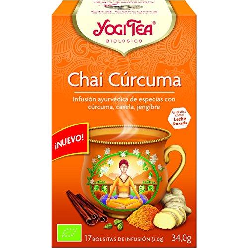 Yogi Tea Curcuma Chai Infuso 17 Bustine