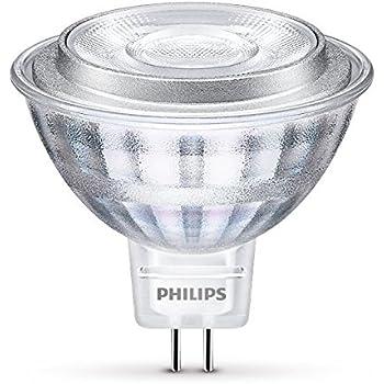 Philips 8718696710555 Bombilla para Foco LED GU5.3, 8 W, Transparente