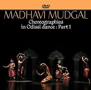 Madhavi Mudgal Choreographies in Odissi dance (Set of 2)
