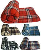 Best Blankets - Soft Double Size Large FLEECE Blanket / Throw Review