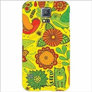Design Worlds - Samsung Galaxy S5 Designer Back Cover Case - Multicolor Pho...