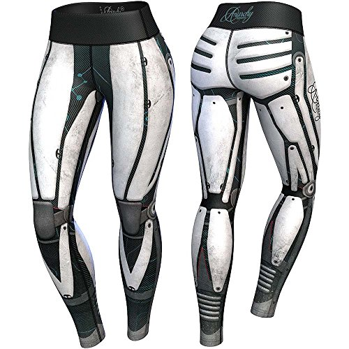 anarchy-apparels-compression-leggings-robota-fitness-hosen-gym-pants-training-gre-m