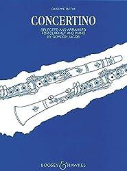 Concertino: Klarinette Und Streichorchester. Klavierauszug Mit Solostimme.
