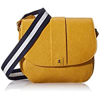 Joules Womens Bridport Bright Satchel Yellow (Antique Gold)