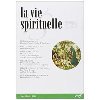 La Vie Spirituelle N  804