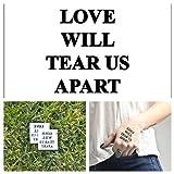 Tattify Tatouages Temporaires Joy Division - Faisant Tous L'Amour (Set de 2)