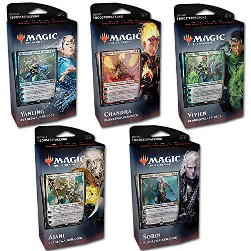 Magic The Gathering MTG - Hauptset 2020 Deck 5er Collection DE