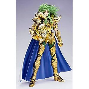 Figura Sion, 18 cm.Los Caballeros del Zodiaco. Myth Cloth EX. Armadura de oro de Aries. Bandai.