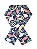 "Maxi Twilly - Polyester, Seideneffekt Köper schal – ""Leichtes lila Armband "" (145*18cm)"