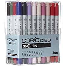 COPIC CIAO ESTUCHE D 36 ROTULADORES