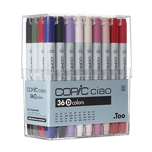 Copic Ciao - Basis Set D - 36er Set