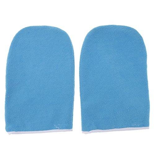 1 Paar Weiche Paraffinwachs Paraffinbad Spa Handschuhe Feuchtigkeitsspendende Handschuhe -