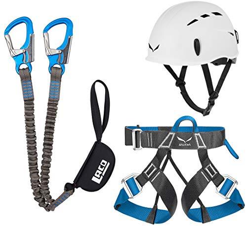 Preisvergleich Produktbild Klettersteigset LACD Pro Evo + Salewa Helm Toxo & Gurt FerrataLite