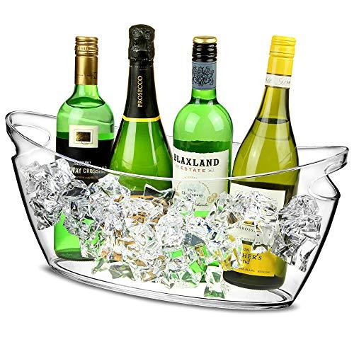 Bañera de Fiesta de plástico, diseño de barca 6Ltr–bebidas cubo, bebidas Tub,...