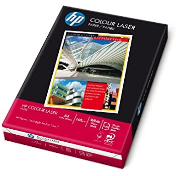HP Colour Laser Pack de 250 feuilles A4 160 g/m² (Import Allemagne)
