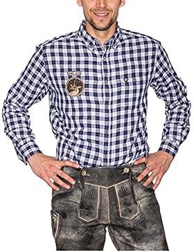 Krüger Trachtenhemd Felix, Kariert, Art.-Nr. 94103-8, Herren Trachtenhemden Tracht