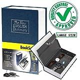 PAVITR SHOP Safe Dictionary Style Iron Locker Jewellery Home Hidden Box