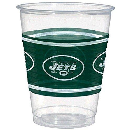 Amscan New York Jets Kunststoff Tasse, 16oz