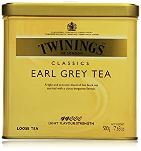 Twinings Earl Grey große Dose 500g, 1er Pack (1 x 500 g)