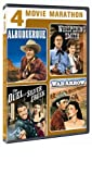 4 Movie Marathon Classic Western: Albuquerque / Whispering Smith / The Duel at Silver Creek / War Arrow