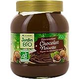 Jardin Bio pâte à tartiner noisette cacao bio 350 g - Prix Unitare - Livraison Gratuit Sous 3 Jours