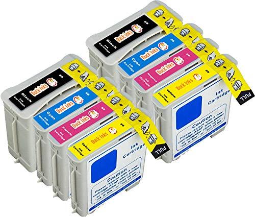 8 x XL Duck Inks Cartuchos de Tinta para HP 88 OfficeJet Pro K5400 OfficeJet Pro L7780 OfficeJet Pro K8600 OfficeJet K5400 OfficeJet Pro L7600 OfficeJet Pro K550 OfficeJet Pro L7590 L7480
