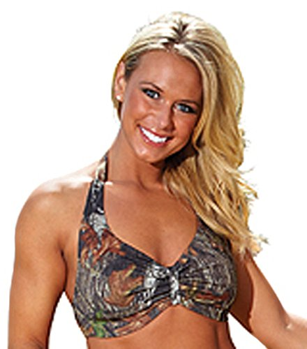 Halter Top Mossy Oak Breakup Large (Camo Webers)