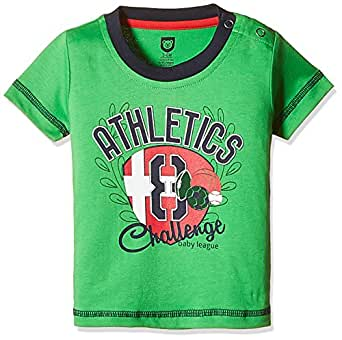 612 League Baby Boys' T-Shirt (BLS16I35004_Green_3-6 Months)