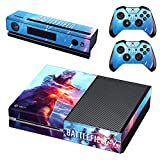 Xbox ONE Skin Sticker Vinyl Decal for Console & 2 Controllers Battlefield V 5