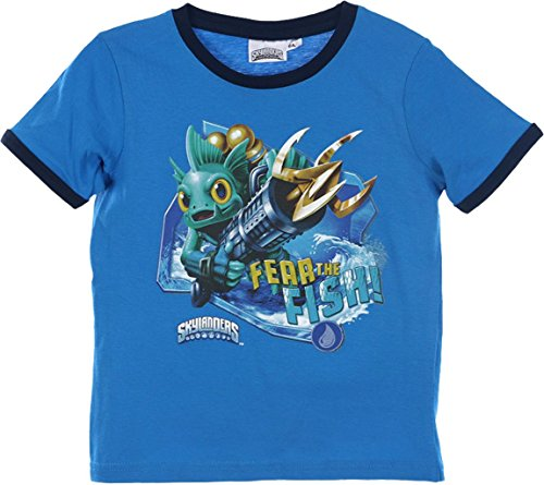 Skylanders Swap Force T-Shirt in Blau Gr. 116