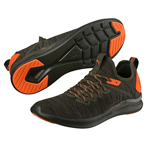 Puma Ignite Flash Evoknit Unrest - Zapatillas de Running para Hombre, Color Verde, Talla 44.5 EU