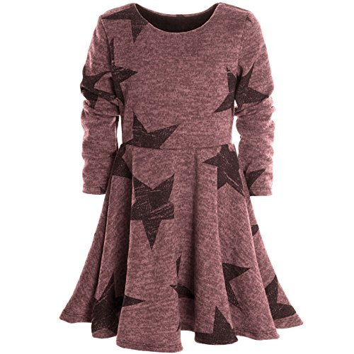 Mädchen Kinder Spitze Winter Kleid Peticoatkleid Festkleid Lang Arm Kostüm 20678, (Italien Kinder Von Kostüm Für)