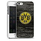 DeinDesign Apple iPhone 5s Hülle Case Handyhülle Borussia Dortmund BVB Holzoptik