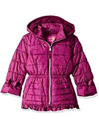Pink Platinum Niñas Abrigo sintético