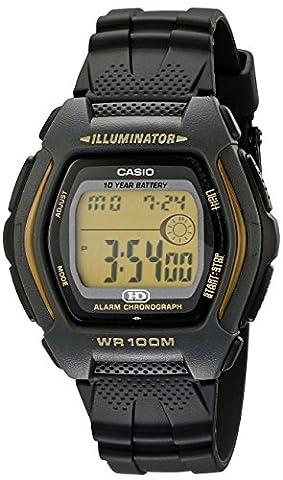 Casio Herren-Armbanduhr Digital Quarz Kautschuk HDD-600G-9AVCB