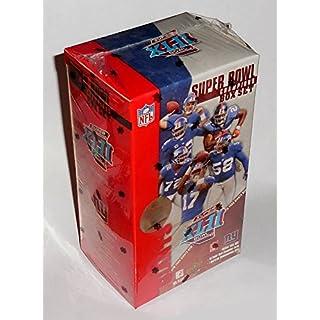 Upper Deck New York Giants Super Bowl XLII Champions Trading Card Commemorative Box Set
