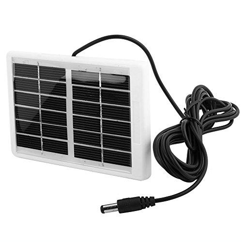 Tbest Tragbares Solarpanel Ladegerät Generator 6V 12.W Multifunktions Tragbares Solar Powerbank Ladegerät für Notlampen Ventilator Handy