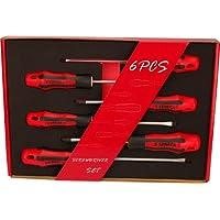 Set De 6 Destornilladores: - 4 Planos - 2 Philips