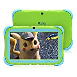 Tablet PC für Kinder 7 Zoll Android 7.1 IPS HD Bildschirm 1GB/16 GB Babypad PC mit WiFi Kamera Spiele Google Play Store Bluetooth Unterstützter Kids-Proof Case GMS Certified (Pink)
